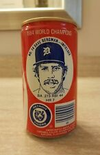 Detroit Tigers 1984 World Champions Coca-Cola VINTAGE Coke can