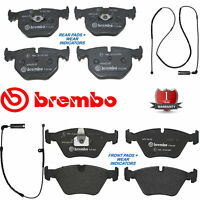 BMW 330 330D 330CI Front rear Brembo brake pads wear wires indicators sensors