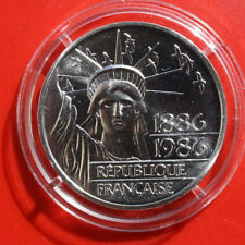 """France-Frankreich: 100 Francs 1986, ST-BU Silber, KM# 960.b, F# 1479, """"Piedfort"""""""