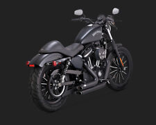 Vance & Hines 47229 Shortshots Staggered Exhaust System '14-'20 Sportster