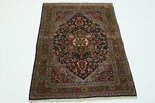 S. Antik Malayer fein Natur Perser Teppich Orientteppich 1,97 X 1,30