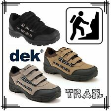 DEK Ascend Unisex Hill Walking Shoes Mens Womens Synthetic Leather Trainers