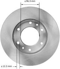 Disc Brake Rotor-Premium Brake Rotor Front Bendix PRT5881