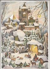 Vieux Calendrier De L'Avent Rs Stuttgart - Tuyau Order No. 77 Made IN Germany