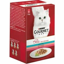 Gourmet Mon Petit 48 x 50g  Wet Food For Adult Cats Cooked In Delicious Sauce