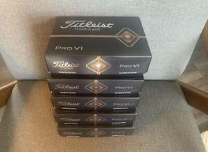 Titleist Pro V1 Golf Balls- Brand New, 5 Dozen-  Logo Overruns