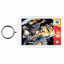 Nintendo 64 N64  KILLER INSTINCT GOLD Box Cover Game Cartridge  Keychain New