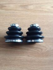 CV Axle Inner & Outer Boot 6 Piece Kit-BMW 525iT-IN STOCK-INC.4 CLAMPS-Rear