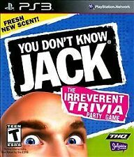 PlayStation 3 : You Dont Know Jack VideoGames