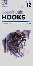 50 Danielson 562MB-12 Dough Bait Treble Fish Fishing Hooks size 12