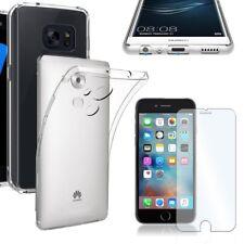 Echt Glas 9H Slim Case Smartphone Glasfolie Hülle Panzerglas Schutzglas Tasche