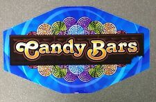 IGT Slot Machine Polygon Topper Insert CANDY BARS