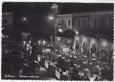 0047 RIMINI BELLARIA IGEA MARINA - NOTTURNO Cartolina FOTOGRAFICA viaggiata 1956