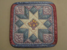 STARBURST QUILT collector plate MARY ANN LASHER Cherished Traditions #7