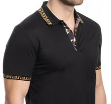 Men's Luxurious Polo Shirt,Italian Premium Style,Modern,Slim Fit,Spandex.