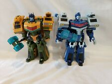 Transformers Animated Ultra Magnus & Roadbuster LOT Complete