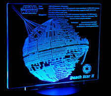 Custom LED Display stand PLAQUE for lego 10143 10188 75159 Death Star Starwars