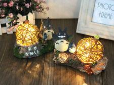 Anime My Neighbor Totoro Figurine Room Lamp Light Home Decor Ghibli Gift Zakka B