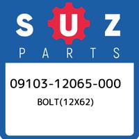 09103-12065-000 Suzuki Bolt(12x62) 0910312065000, New Genuine OEM Part
