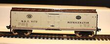 Vintage  Fleischmann HO Scale  M.D.T 9173 REFRIGERATOR CAR Metal Shell