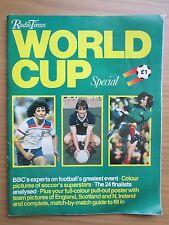 I tempi di Radio 1982 COPPA DEL MONDO NUMERO SPECIALE