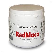 rote RED MACA® 450 KAPSELN à 725mg aus Huayre/Junin-Peru Original INKANATURA®