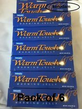 6X Warm Touch Warming Jelly Lubricant gel increase sex intimacy sex drive new