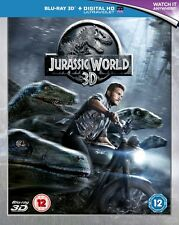 Jurassic World [Blu-ray 3D] [2015] Chris Pratt New Sealed