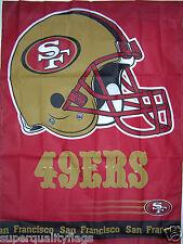 New listing 49ers Flag 27X37 New San Francisco banner with flag pole sleeve made usa nfl au