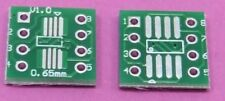 50x SOP8 SO8 SOIC8 TSSOP8 MSOP8 to DIP8 Adapter PCB Conveter Board DIY Lot UK