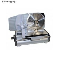 Electric Meat Slicer Vegetable Fruit Cheese Home Commercial Food Deli Ham Cutter