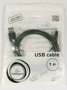 PRL) CAVO USB 2.0 A-PLUG TO MICRO B-PLUG CABLE 1 MT KABEL CABLEXPERT