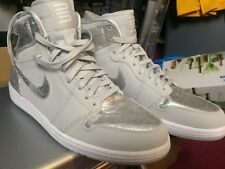 Air Jordan 1 Retro Hi Silver Size 12 new DS with case