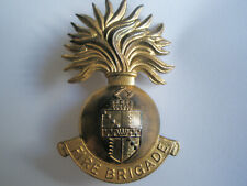 Birmingham Fire Brigade cap badge