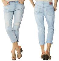 Levi's Damen Jeanshose 501 CT Old Favourite Vintage Blau W27 - W28