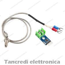 Termocoppia K + modulo MAX6675 - sensore temperatura ARDUINO - ART. CD23