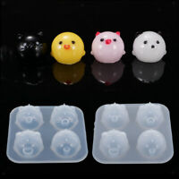 Clear Animal Silicone Mold Making Jewelry Resin Casting Mould DIY Craft Tool