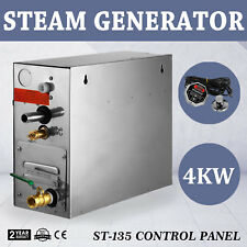 4KW STEAM GENERATOR SHOWER SAUNA BATH SPA 220V SAFETY  ROOM SAUNA