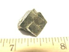 Pyrite crystal cube cluster all natural,Chihuahua,Mexico 5/8 inch ee30