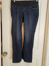 Old Navy Maternity Low Rise Boot Cut Stretch Size 8 Women's Pants Denim
