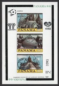 Panama 1980 block of stamps Mi#Bl.114 MNH CV=35€