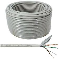 Netzwerkkabel Cat.6 50m ; F/UTP ; Cat6 LAN Ethernet Kabel Cat6 Patchkabel