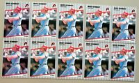 Mike Schmidt - 1989 Fleer #582 - Phillies - HOF - 10ct Card Lot