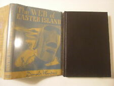 The Web of Easter Island, Donald Wandrei, DJ, Arkham House, 1948, 1st Edition
