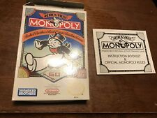Nes Nintendo Monopoly Instructions And Box Only Empty