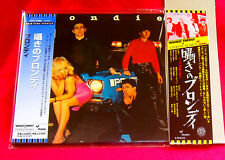 Blondie Plastic Letters MINI LP CD + PROMO OBI JAPAN TOCP-67892