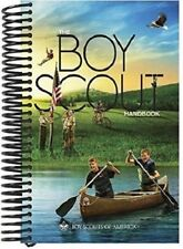 New Version Boy Scout Official Spiral Bound Handbook 13th Edition Pages Lay Flat