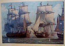 """RAMOND MASSEY """"BATTLE OF LAKE ERIE """"  1813- COA 175/450 SEE DESCRIPTION"""