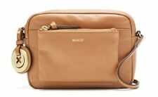 Mimco Supernatural Small BOX HIP Hand Bag Leather Handbag Honey tan Crossbody