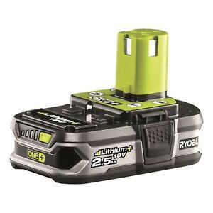 Ryobi RB18L25 18V ONE+ Lithium+ 2.5Ah Battery